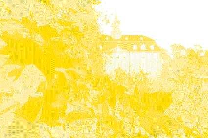 <p> Farbauftrag Gelb. Je weniger der deckenden Grundfarben auf das Papier kommt, desto heller fällt das Ergebnis aus.</p>