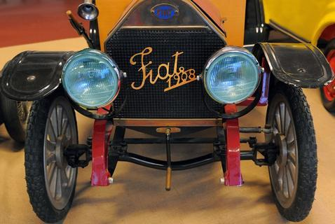<p> Nachbau eines Fiat Maestro aus dem Jahre 1908.</p>