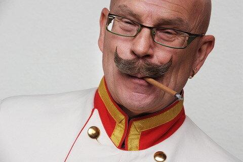 Die K&K-Variante des Barts: Rainer Maute aus Albstadt-Ebingen.
