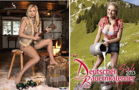 <p> Am Rande des Oktoberfests in München ist der Deutsche Bauernkalender 2013 vorgestellt worden. Die Models sollen &quot;die moderne Landwirtschaft Deutschlands&quot; und den Stolz auf ihre bäuerliche Herkunft zeigen.</p>