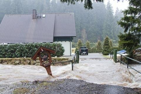 <p> Dennoch war das Hochwasser lokal begrenzt.</p>