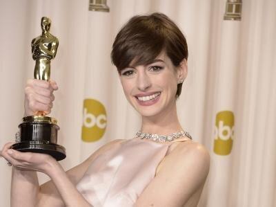 <p> Anne Hathaway wurde als beste Nebendarstellerin ausgezeichnet.</p>