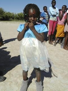 <p> Auch die ganz kleinen Kinder wollten am Kinderfest für die Schüler der Klassen 1 - 7 teilnehmen.</p>