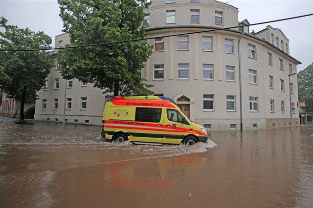 <p> In Zwickau-Pölbitz ist Katastrophenalarm ausgerufen worden.</p>