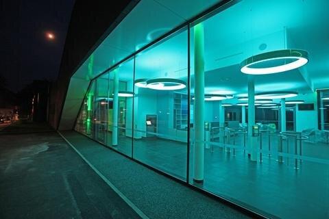 <p> Mehr als 15 Millionen Euro kostete das Projekt. Betreiber wird die Johannisbad GmbH.</p>