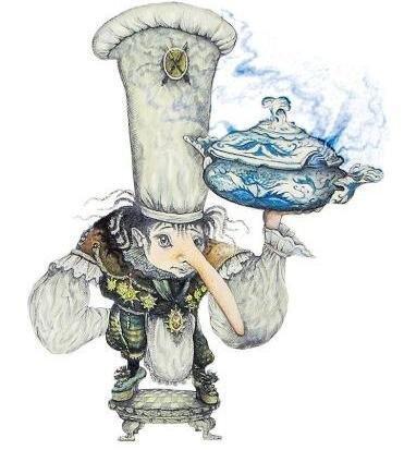 <p> Die Illustrationen zu Wilhelm Hauffs Zwerg Nase wurden 1996 im Düsseldorfer Patmos-Verlag veröffentlicht. Sie entführen in eine Welt voller exotischer Gewürze, Gerüche und skurriler Gestalten.</p>