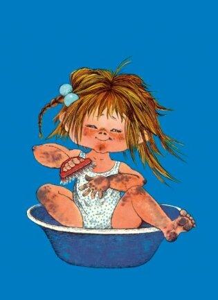 <p> Das Schrubbkatrinchen ist diesen Monat im Kinderbuchverlag Beltz neu erschienen. 1974 gab es die Erstauflage.</p>