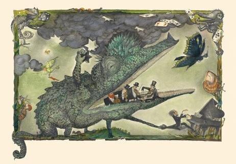 """<p> Orchestersterben mal ganz anschaulich: Das Bilderbuch """"Der Dunkelmunkel"""" erschien 1987. Regine Heinecke verlieh dem allesfressenden Untier von Autor Dieter Mucke mit ihren Bildern eine Gestalt.</p>"""