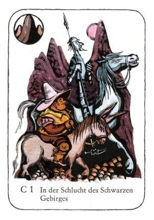 """<p> Scharfsinnige Narrheiten: Kartenspiel """"Don Quijote"""" (1972).</p>"""