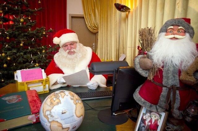 <p> Das Büro des Weihnachtsmannes ist noch bis zum 24. Dezember besetzt.</p>