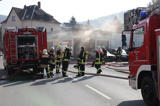 <p> Etwa 30 Feuerwehrleute waren an der Löschaktion beteiligt.</p> <p> &nbsp;</p> <p> &nbsp;</p>
