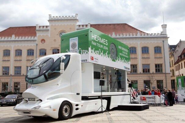 Bildergalerien hermes fan tour 2014 meisterschale heute for Hermes verteilzentrum chemnitz