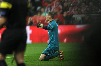 <p> Konnte nicht viel ausrichten: Torhüter Manuel Neuer.</p>