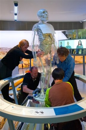 <p> Der Umbau zum Museum, der 2010 begann, hat 32,9 Millionen Euro gekostet.</p>