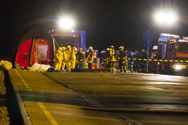 <p> Wie die Polizei informierte, war einem Arbeiter auf dem Gelände einer Logistik-Firma an der Kohlenstraße das Leck am Container aufgefallen.</p>