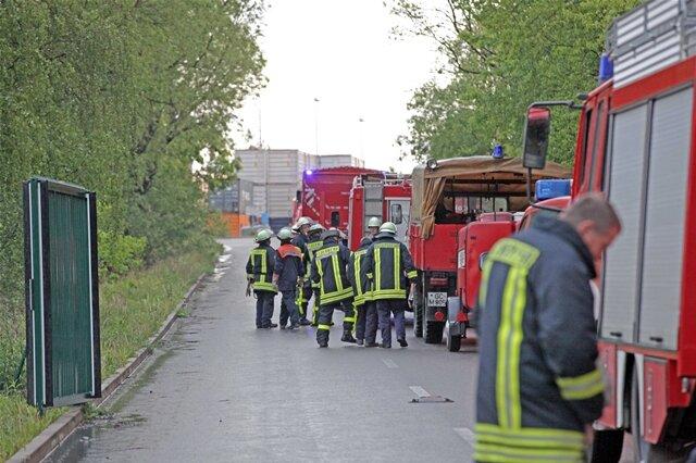 <p> Die Freiwilligen Feuerwehren aus Glauchau und den umliegenden Ortschaften sowie die Berufsfeuerwehr Zwickau kamen zum Einsatz.</p>