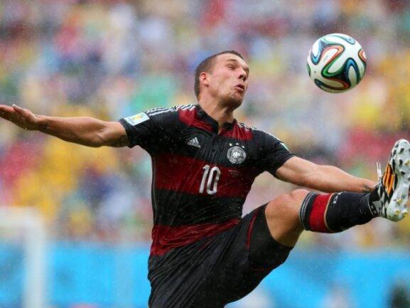 <p> <b>Sterbender Schwan</b><br /> Lukas Podolski durfte gegen die USA spielen, agierte aber unglücklich und wurde zur Halbzeitpause ausgewechselt. Foto: Srdjan Suki<br /> 26.06.2014 (dpa)</p>