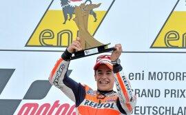 <p>Weltmeister Marc Márquez gewann am Sonntag die Königsklasse.</p>