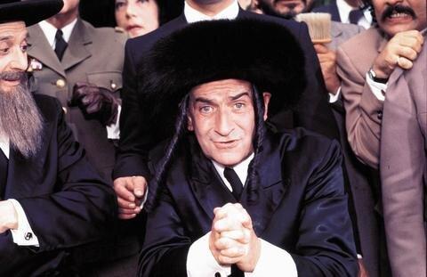 <p> Die Abenteuer des Rabbi Jacob, 1973.</p>