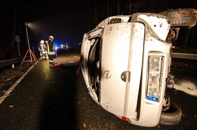 <p> Am Fahrzeug entstand mit 7000 Euro Totalschaden.&nbsp;</p>
