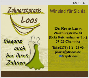 "<p> <a href=""http://www.facebook.com/zapdrloos"">Zahnarztpraxis Dr. Rene Loos</a></p>"