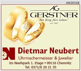 <p> Juwelier Dietmar Neubert im Neefepark in Chemnitz</p>