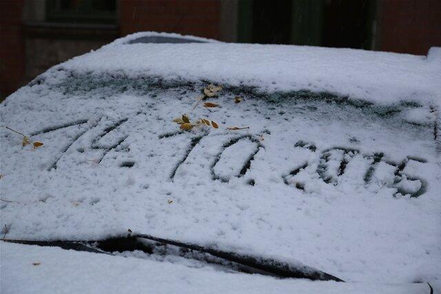 <p> Dieses Datum steht für ein sehr plötzliches Ende des Herbstes. Der über Nacht gefallene Schnee überraschte nicht nur im Gebirge, sondern auch niedriger gelegenen Orten wie hier in Chemnitz.</p>