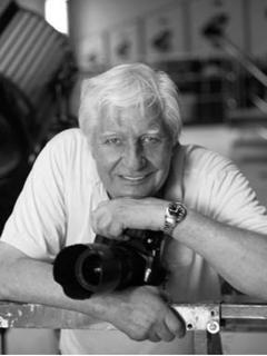 Gunter Sachs bei Studioaufnahmen, 2007