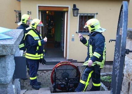 <p> Eine 86-jährige Bewohnerin und ihr behinderter Sohn kamen mit Verdacht auf Rauchgasvergiftung ins Krankenhaus.</p>