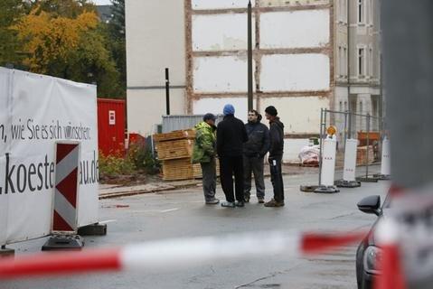 <p>Die Hübschmannstraße wurde daraufhin gesperrt.</p>