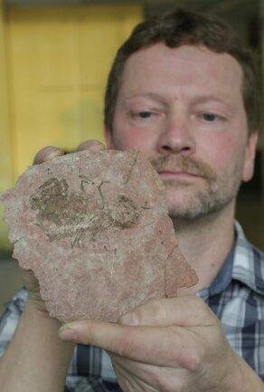 """<p>13. April: Um seinem Kollegen Bernd Tunger (Foto) Ehre zu erweisen, benannte Ronny Rößler, Direktor des Naturkundemuseums Chemnitz, eine neu entdeckte Skorpionart """"Opsieobuthus tungeri"""". Gefunden wurden die Fossilien bereits 2009. Doch erst in diesem Jahr gelang einem Team aus Deutschland, den USA und Großbritannien die wissenschaftliche Bearbeitung. Warum Rößler die Skorpione ausgerechnet nach Tunger benannte? """"Weil niemand das Stadtgebiet geologisch besser kennt als er"""", ist sich der Wissenschaftler sicher. 1991 habe Tunger Chemnitz geologisch kartiert. Funde von versteinerten Hölzern habe er genauestens dokumentiert. Da das Naturkundemuseum bestrebt sei, wieder zu rekonstruieren, wie der Wald vor 291 Millionen Jahren aussah, seien das wichtige Daten.</p>"""