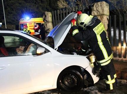 <p>An den Autos entstand Totalschaden.</p>