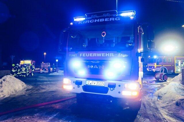 <p>Die Feuerwehren von Saubersdorf, Kirchberg, Hartmannsdorf und Bärenwalde waren mit 50 Einsatzkräften vor Ort.</p>