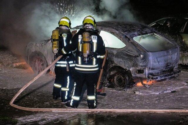 """<p xmlns:php=""""http://php.net/xsl"""">In der Nacht zu Samstag haben auf der Bruno-Dost-Straße in Schneeberg drei Autos gebrannt.</p>"""