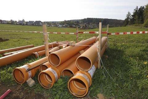 <p>Rund um den Fundort wurde ein 400 Meter großer Sperrkreis eingerichtet.</p>