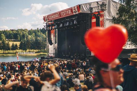 <p>Die Liebe war beim Festival zum Greifen nah.</p>