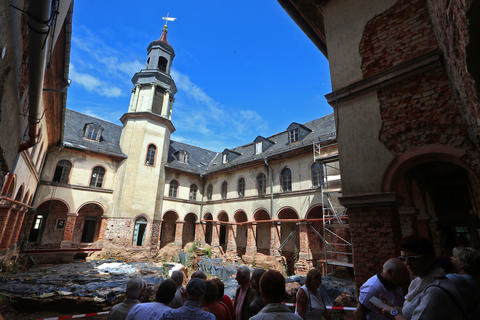 <p>Der einstige Herrschaftssitz wurde um 1200 errichtet.</p>