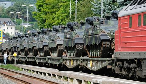 <p>Bis Ende August sollen die rund 450 Soldatinnen und Soldaten und die gesamte Ausrüstung in Litauen einsatzbereit sein.</p>
