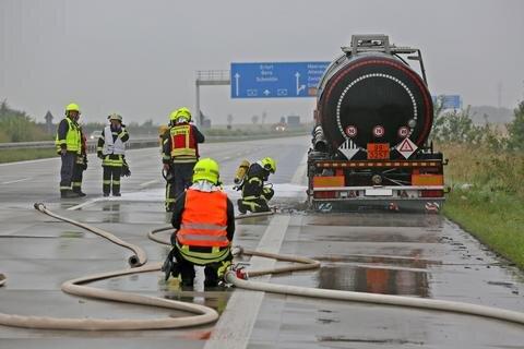 <p>Der Brand konnte von den 45 Feuerwehrleuten schnell gelöscht werden.</p>