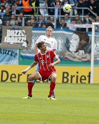 <p>Müller gegen Julius Reinhardt.</p>
