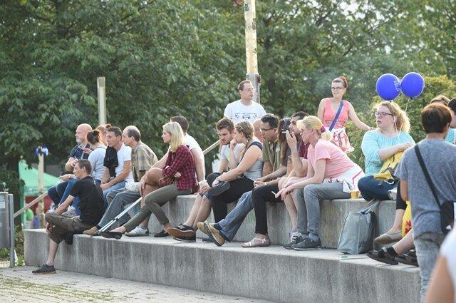 <p>Bis Sonntagabend können sich Besucher auf dem Chemnitzer Stadtfest amüsieren.</p>