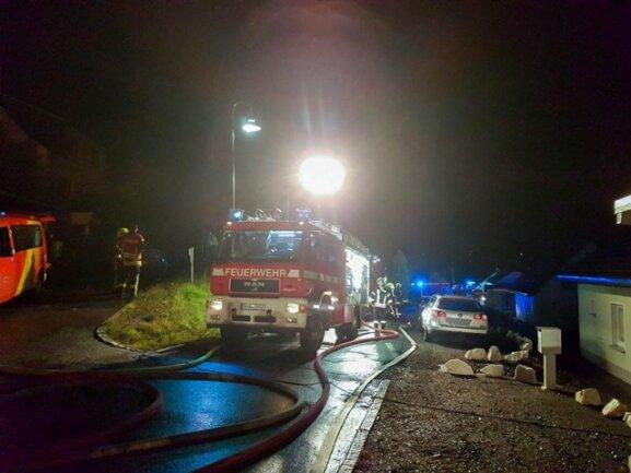 <p>Nach ersten Angaben wurde bei dem Brand niemand verletzt.</p>