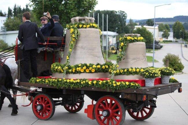 <p>Peter Grassmayr sagte, dass es sich um das größte Geläut in Sachsen handeln müsste.</p>