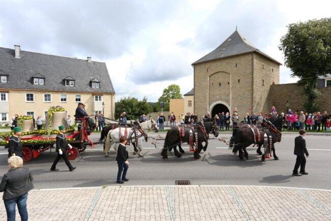 <p>Die vier neuen Glocken wurden bei der Firma Grassmayr in Innsbruck gegossen.</p>
