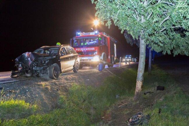 <p>Warum der Fahrer die Kontrolle über sein Fahrzeug verlor, ist noch unklar. Die Polizei hat Ermittlungen aufgenommen.</p>