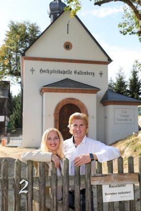 <p>Mit ihrer Hochzeitskapelle machen Tino und Vivienne Taubert aus Callenberg einen Traum wahr.</p>