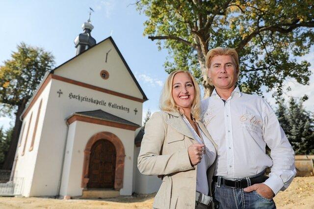 <p>Das Schlagerduo ist schon auf vielen Hochzeiten in ganz Deutschland aufgetreten. So kamen die beiden Künstler auf die Idee, die Kapelle zu errichten.</p>