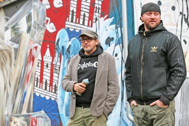 """<p>Die Stadt sieht das Graffiti-Kunstwerk dennoch auch weiterhin nur als eine vorübergehende künstlerische Darstellung. """"Im Rahmen der Weiterentwicklung des Areals spätestens mit der Bebauung der Fläche kann das enden"""", sagte Heike Reinke von der Pressestelle des Rathauses.</p>"""