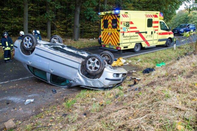 <p>Im Einsatz waren neben Rettungsdienst und Polizei die Feuerwehren Bieberstein, Reinsberg und Hirschfeld.</p>