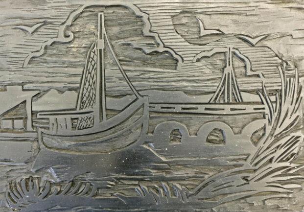 <p>Pechstein, für den die Küste entlang der Ostsee zur zweiten Heimat geworden war, wollte nach Ende des Zweiten Weltkrieges eine weitere Grafikmappe herausgeben und entschied sich für den Kunstverlag Horst Boettcher in Berlin.</p>
